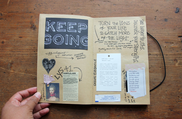 besottment by paper relics: My Common Place Journal