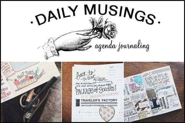 besottment by paper relics: Daily Musings Agenda Journaling E-Course