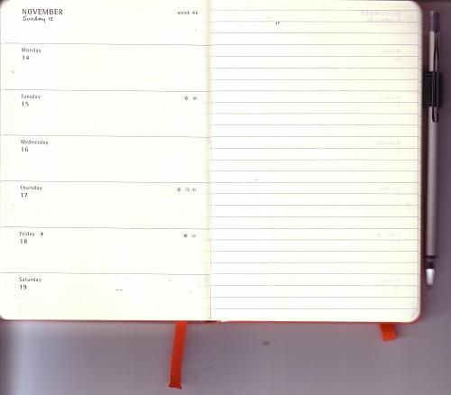 Moleskine - myMoleskine - Diary Hack